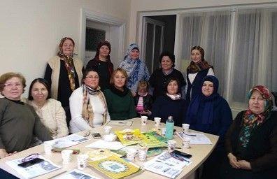 Рифә Рахман Төркиядә яшәүче татарлар белән очрашты