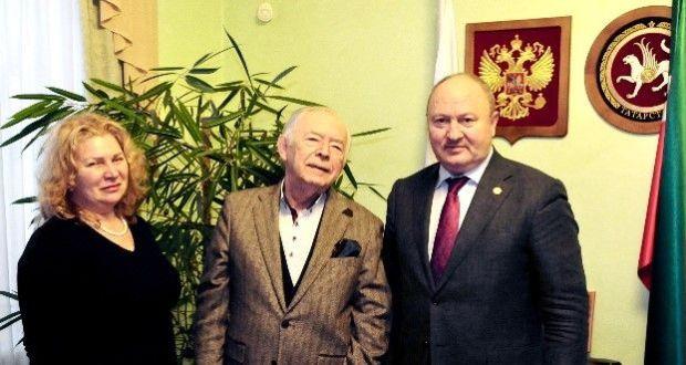 В Полпредстве Татарстана обсудили проект «Россия. Полет через века»