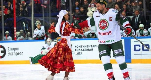 "Hockey club ""Ak Bars"" will hold a ""Tatarcha match"""