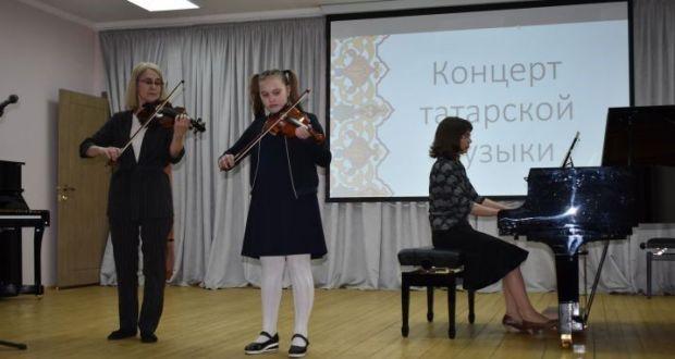 Концерт татарской музыки состоялся на сцене Верхнеуслонской школы искусств