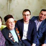 «Штаб татар» встретился с ветераном войны Шигабутдин Садыковым