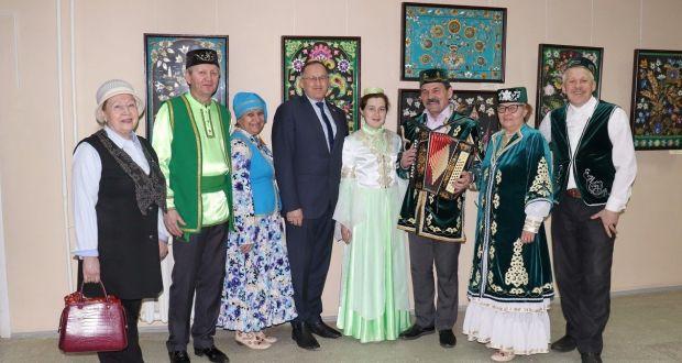 В Йошкар-Оле открылась персональная выставка Земфиры Бикташевой