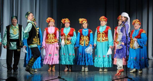 """ФОТОРЕПОРТАЖ: Оренбург өлкәсенең """"Тургай"""" халык ансамбле  25 еллык юбилеен уздырды"""