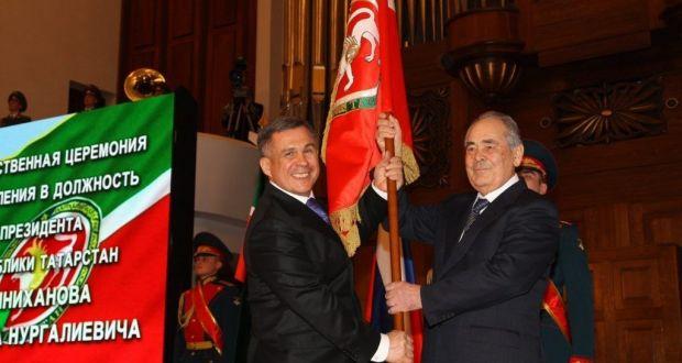 25 марта — день официального вступления Рустама Минниханова в должность Президента  РТ