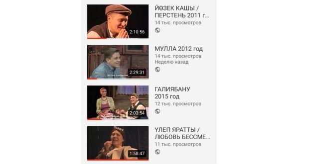 Свыше 90 тысяч человек посмотрели видеозаписи спектаклей театра Камала
