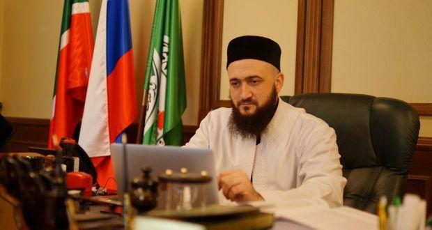 Татарстан мөфтие халыкны Skype аша «кабул итте»