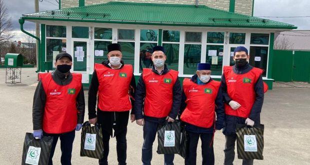 «Дари добро»: в Татарстане мусульмане продолжают оказывать продовольственную помощь нуждающимся