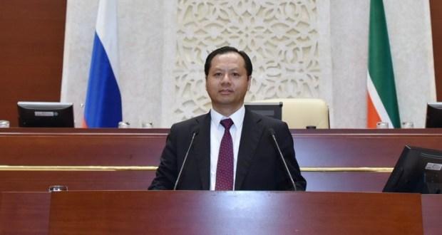 Генконсул Китая поздравил татарстанцев со 100-летием ТАССР