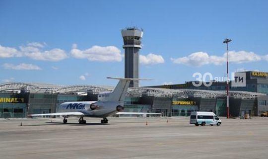 Казан аэропорты Тукай шигыре басылган утырту талоннарына заказ биргән