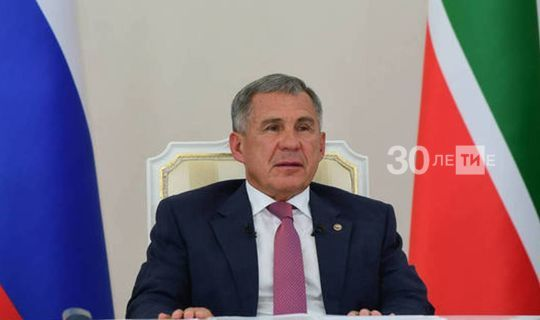 Minnikhanov became the first candidate for President of the Republic of Tatarstan in the autumn elections