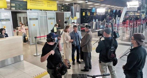 Татарстанский фильм «Исәнме сез?» («Живы ли вы?») снимают в Казанском аэропорту
