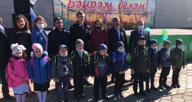 Васил Шәйхразыев эшлекле визит белән Теләче районында