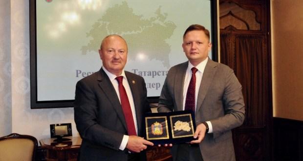 Полпредство Татарстана посетили представители Орловской области