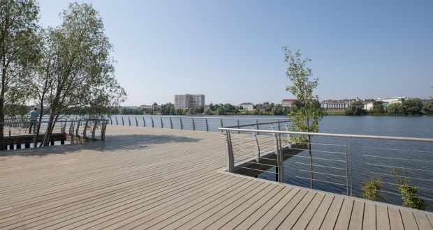 Renewed  embankment of the   Lake Kaban will be opened for the 100th anniversary of the TASSR