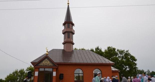 В Сабинском мухтасибате открылась новая мечеть
