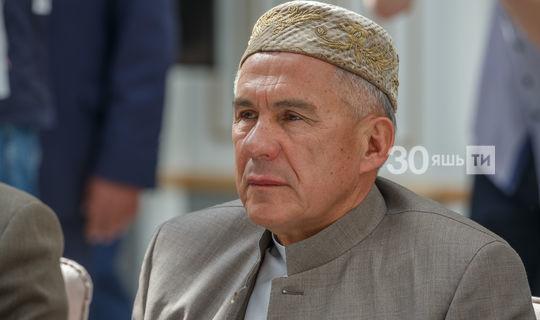 «Татарстан Республикасы Президенты — милли җанлы, иманлы кеше!»