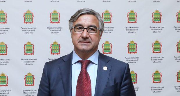 Василь Шайхразиев поздравил Губернатора Пензенской области со вступлением в должность