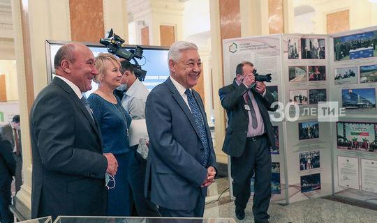 Казанда Архив эше буенча советта катнашучылар ТАССРның 100 еллыгы күргәзмәсен карады