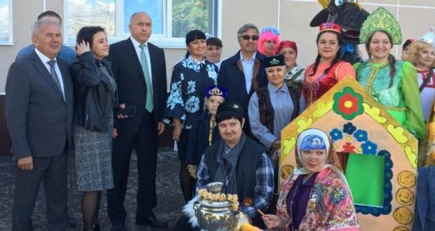 Василь Шайхразиев с рабочим визитом в Азнакаевском муниципальном районе