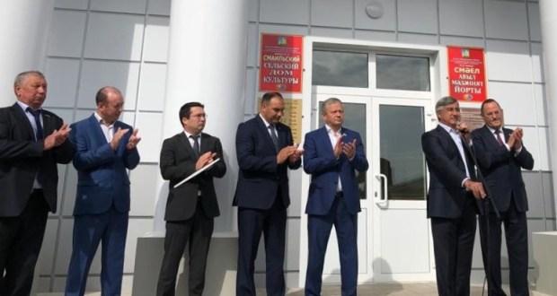 Председатель Нацсовета с рабочим визитом в Балтасинском районе