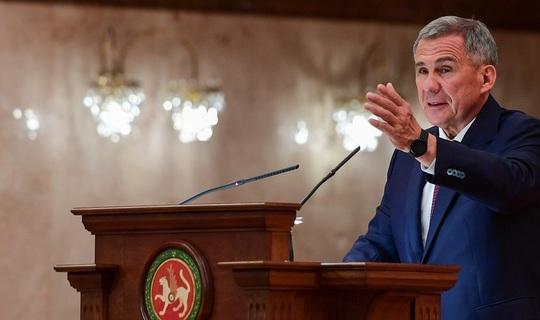 Рустам Минниханов обратится с президентским посланием к Госсовету РТ 24 сентября