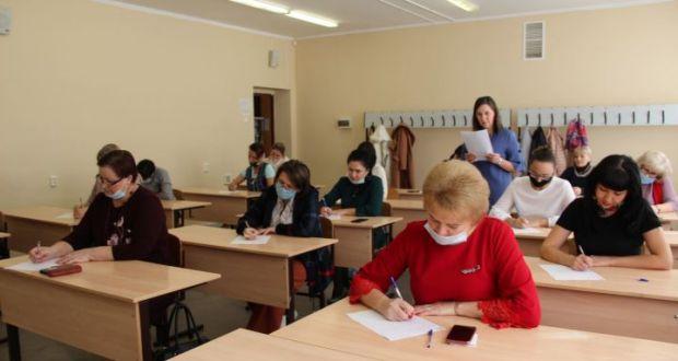 Заинцы написали «Татарча диктант»