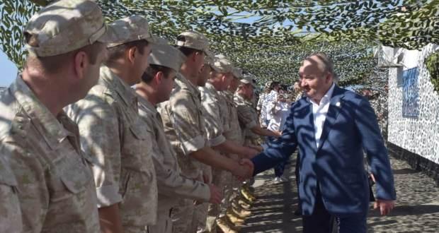Делегация Татарстана встретилась в Сирии с военнослужащими из республики
