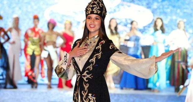 Tatarstan beauty Milyausha Galimova won a prize at a beauty contest