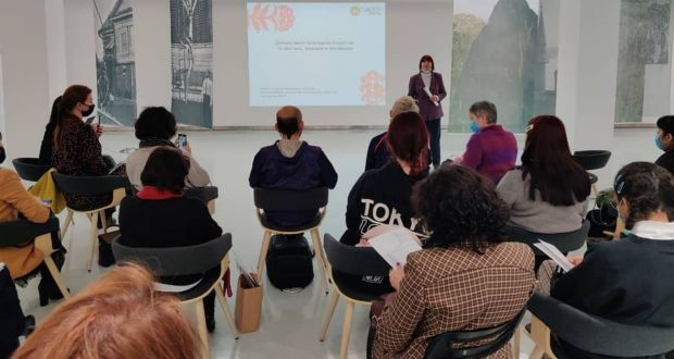 """The training seminar """"Decorative and applied art of Tatarstan: traditions and innovations"""" has started"""