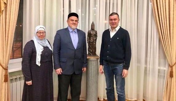 Ренат Валиуллин встретился с муфтием Иркутской области Фаридом хазратом Мингалеевым