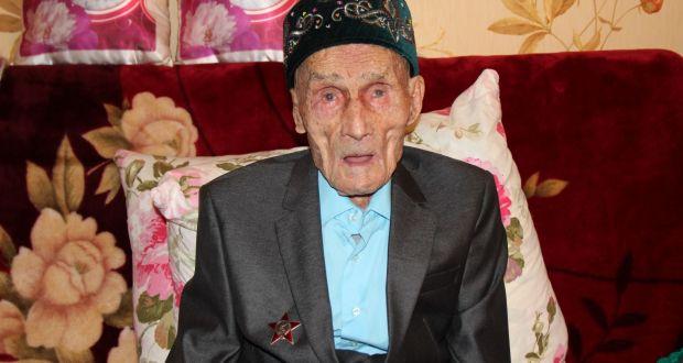 Ветерану Великой Отечественной войны Гиндулле Сахипову был вручен орден Красной Звезды