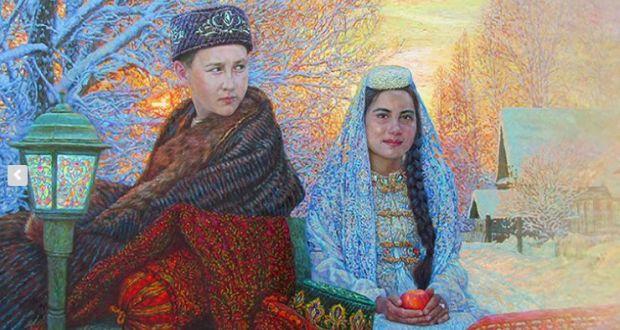 Выставка Анвара Сайфутдинова в Национальной художественной галерее «Хазинэ» ГМИИ РТ