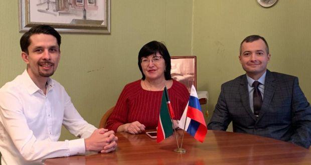 В Постоянном представительстве Республики Татарстан прошла встреча с Героем России Дамиром Юсуповым