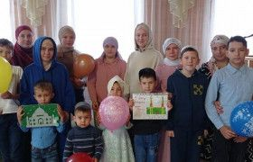 "Mosques ""Iman"" and ""Ikhlas"" of the Chistopol mukhtasibat  held  holidays timed to the Mother's Day"