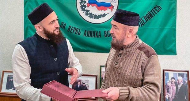 Камиль хазрат Самигуллин встретился в Москве с Нафигуллой хазратом Ашировым