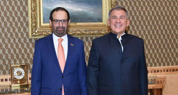 Рустам Минниханов встретился с председателем правления Всемирного совета мусульманских сообществ