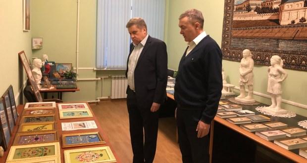 В Санкт-Петербурге состоялась встреча Рената Валиуллина с Андреем Шараповым
