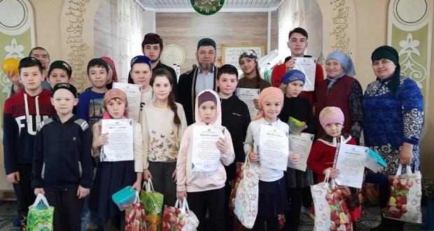В Муслюмовских мечетях были организованы духовно-здоровительные курсы