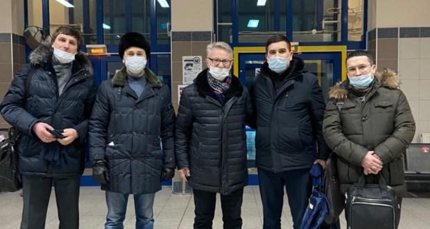 Данис Шакиров прибыл с рабочим визитом в Нижневартовск