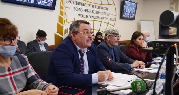 На заседании Национального Совета выступил Фарит Уразаев