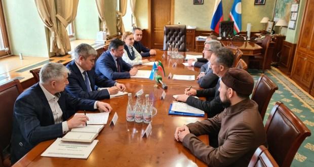 Василь Шайхразиев встретился с Председателем Правительства Республики Саха (Якутия)