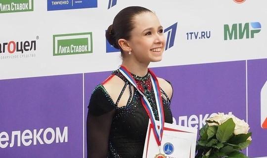 Kazan native Kamila Valieva wins the Russian Figure Skating Cup final