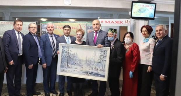 Газета «Маяк» собрала гостей на свой 90-летний юбилей