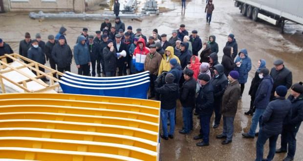 ФОТОРЕПОРТАЖ: IX Бөтенроссия татар авыллары эшмәкәрләре җыенында катнашучылар Тукай районында