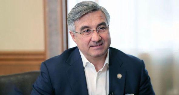 Василь Шайхразиев поздравил Тукаевский район с 45-летием