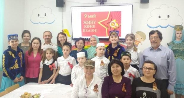 Бишкек шәһәрендәге Каюм Насыйри үзәгендә Бөек Ватан сугышының 76нчы Җиңү көнен билгеләп уздылар