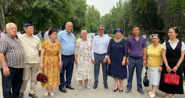 Vasil Shaikhraziev took part in the Sabantui of Bishkek