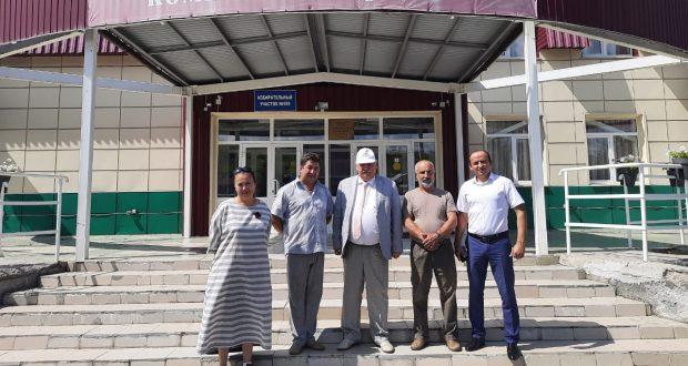 Татарские краеведы посетили музей истории села Аракаево на Среднем Урале