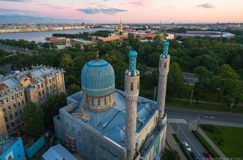 В Санкт-Петербурге реставрируют Соборную мечеть