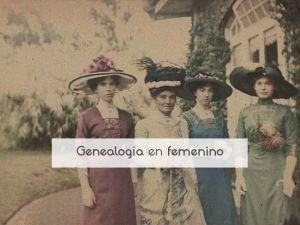 Genealogía en femenino